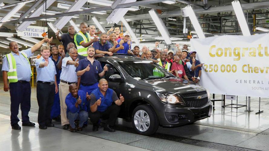 GM vai cortar operações na Índia e África do Sul