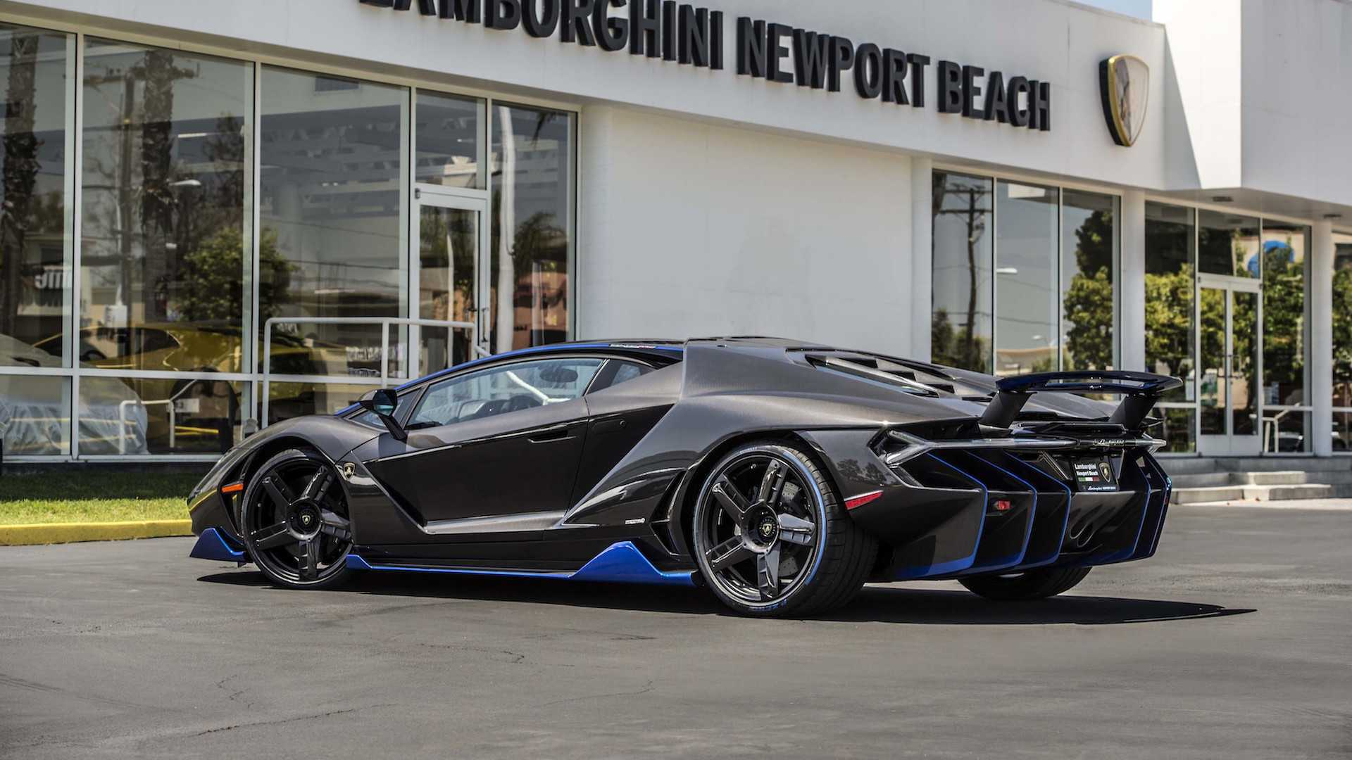First Lamborghini Centenario In The U S Shows Up In Cali