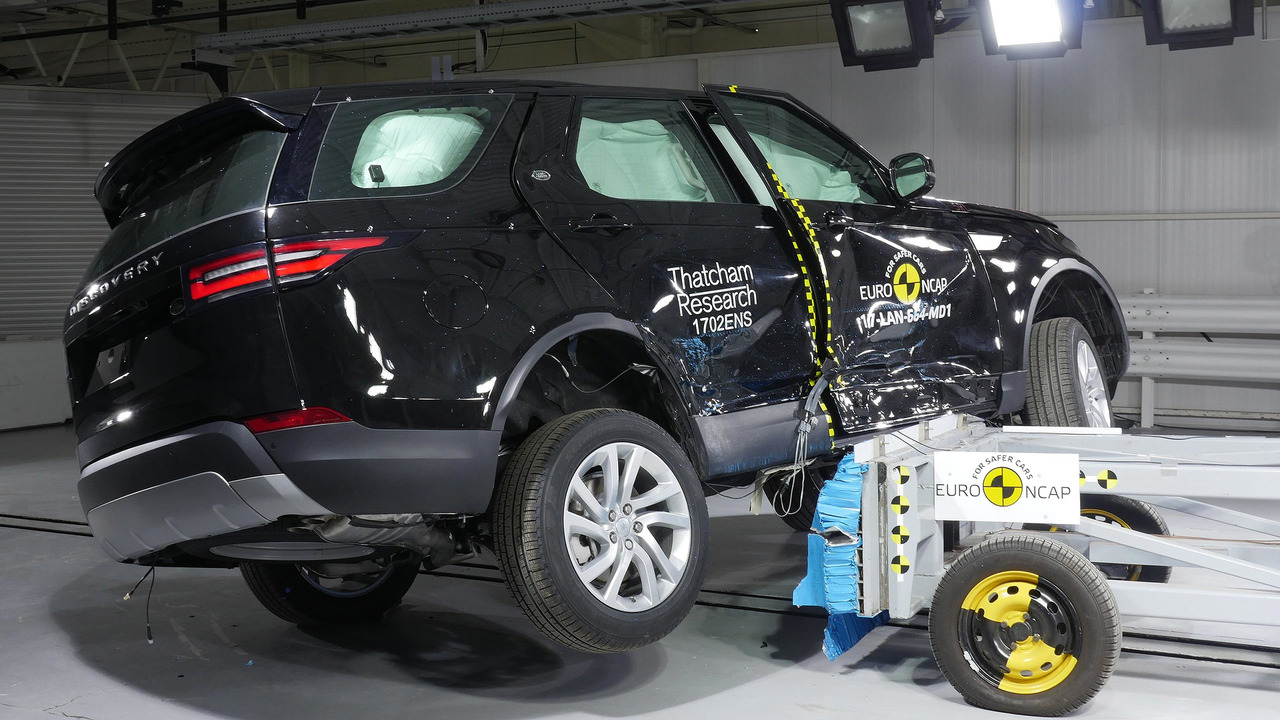 Land Rover Discovery Euro NCAP test