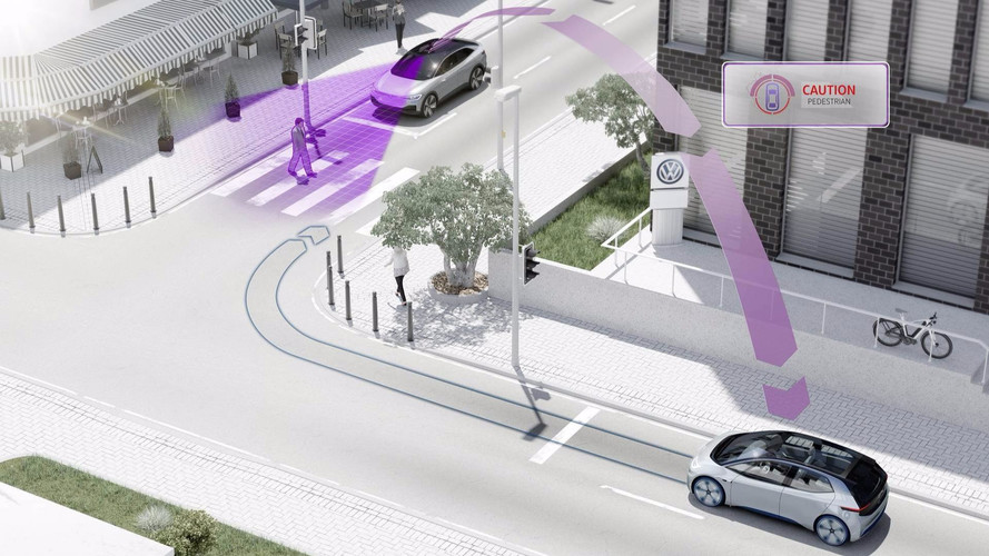 VW will allow its vehicles to communicate in 2019