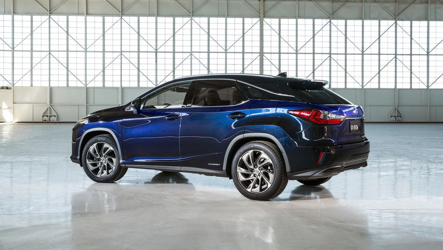 Three-Row Lexus RX Could Finally Debut At Tokyo Motor Show