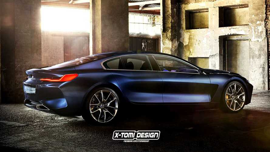 Illustrations - BMW Série 8 Gran Coupé, Shooting Brake et Pickup