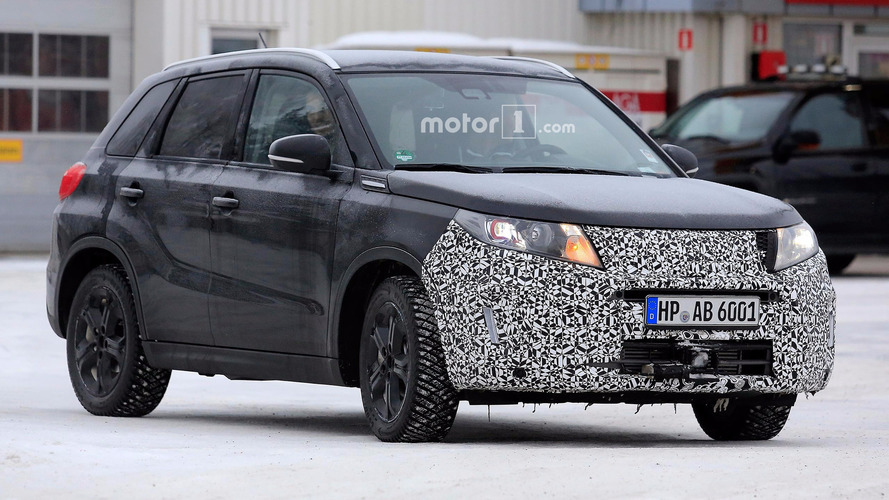 Suzuki Vitara refresh spy photos