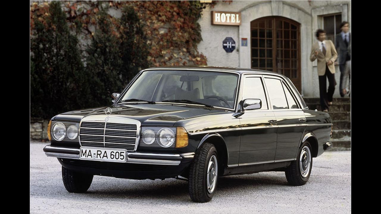 Platz acht seit 1999: Mercedes 300 D
