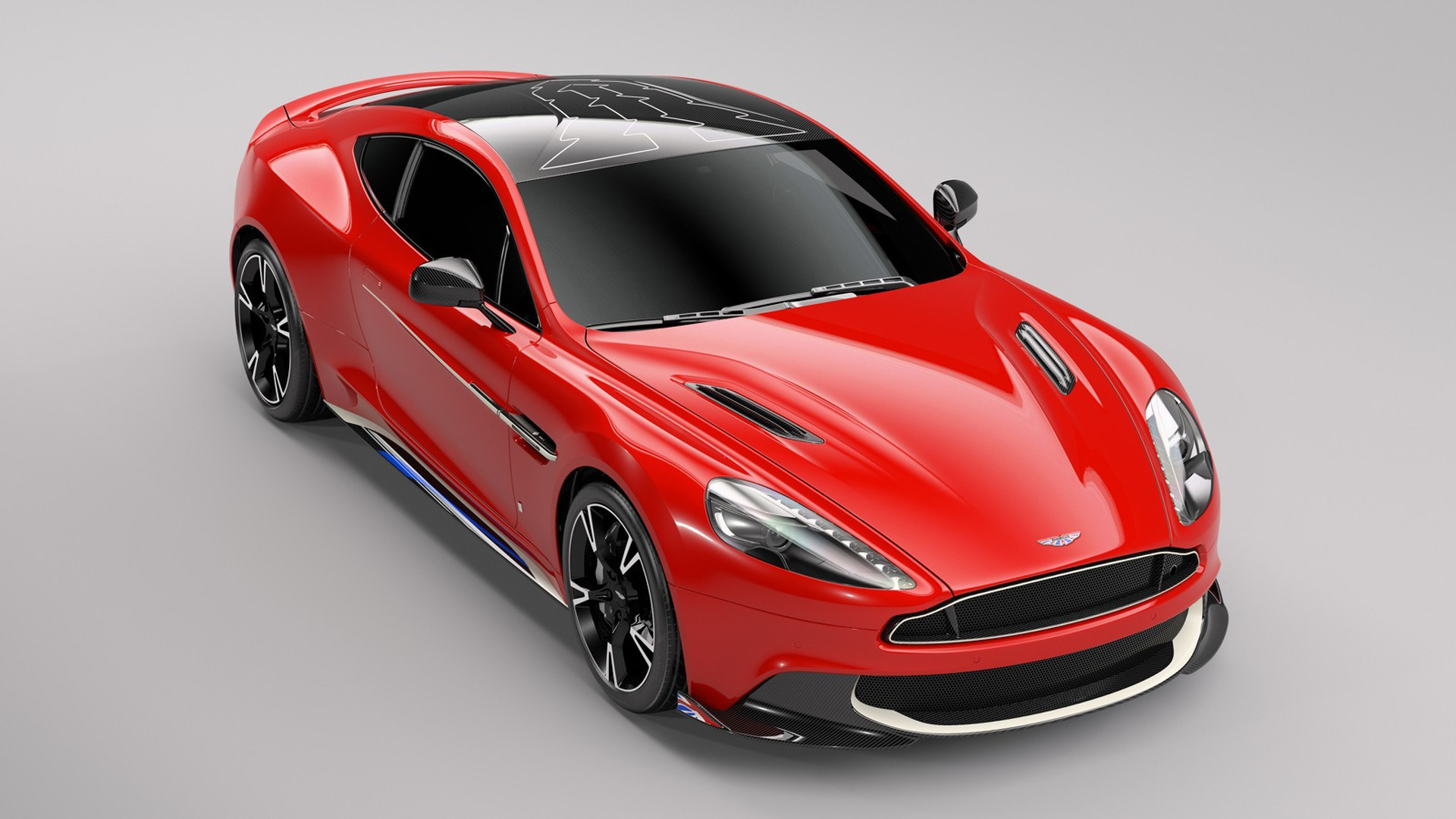 Aston Martin Vanquish S Red Arrows Honors British Royal Air Force