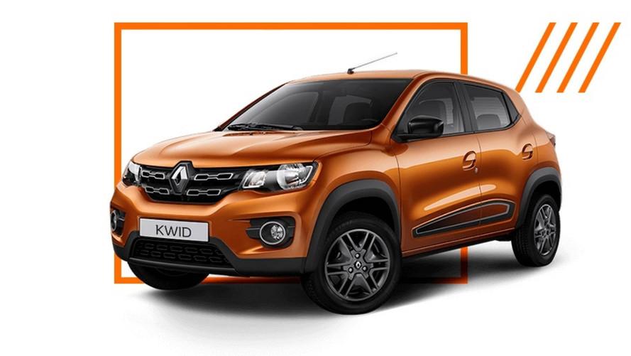 Renault Kwid ganhará inédita versão elétrica em 2018