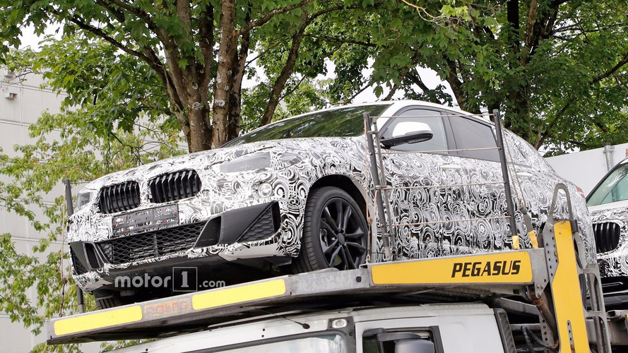 BMW X2 Spied Front End Spied Up Close