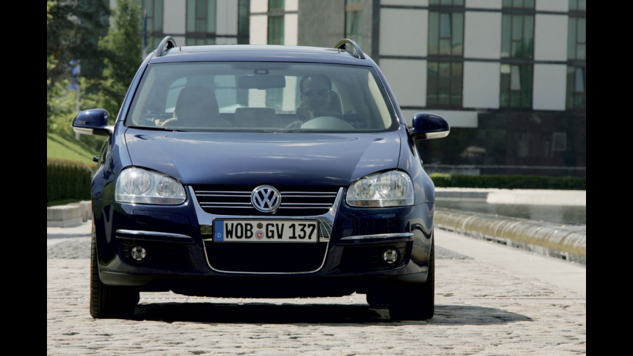 Volkswagen Golf Variant model year 2009