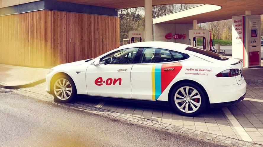 E.ON - 10'000 bornes de recharge rapide d'ici 2020
