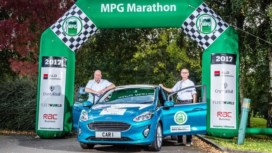 Ford fiesta MPG marathon