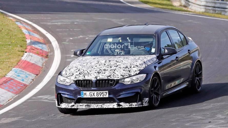 2018 BMW M3 CS ilk kez hareket halinde görüntülendi