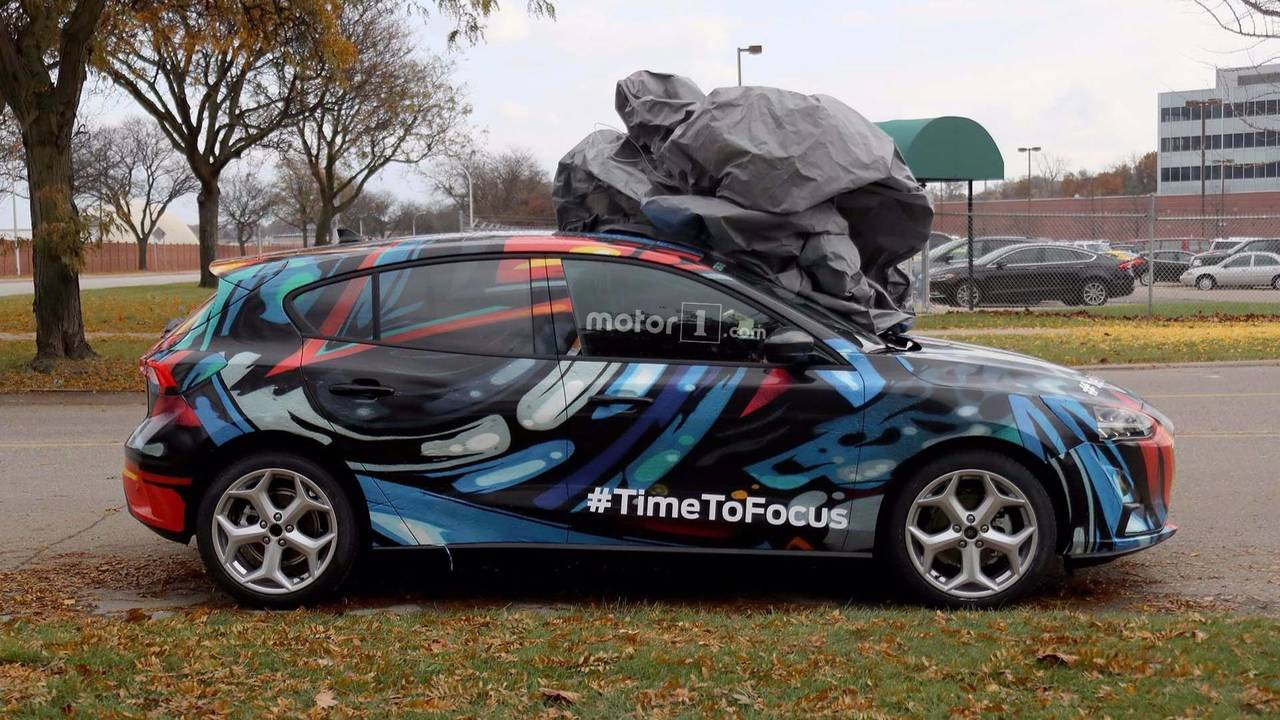 2019 Ford Focus Spy Photo