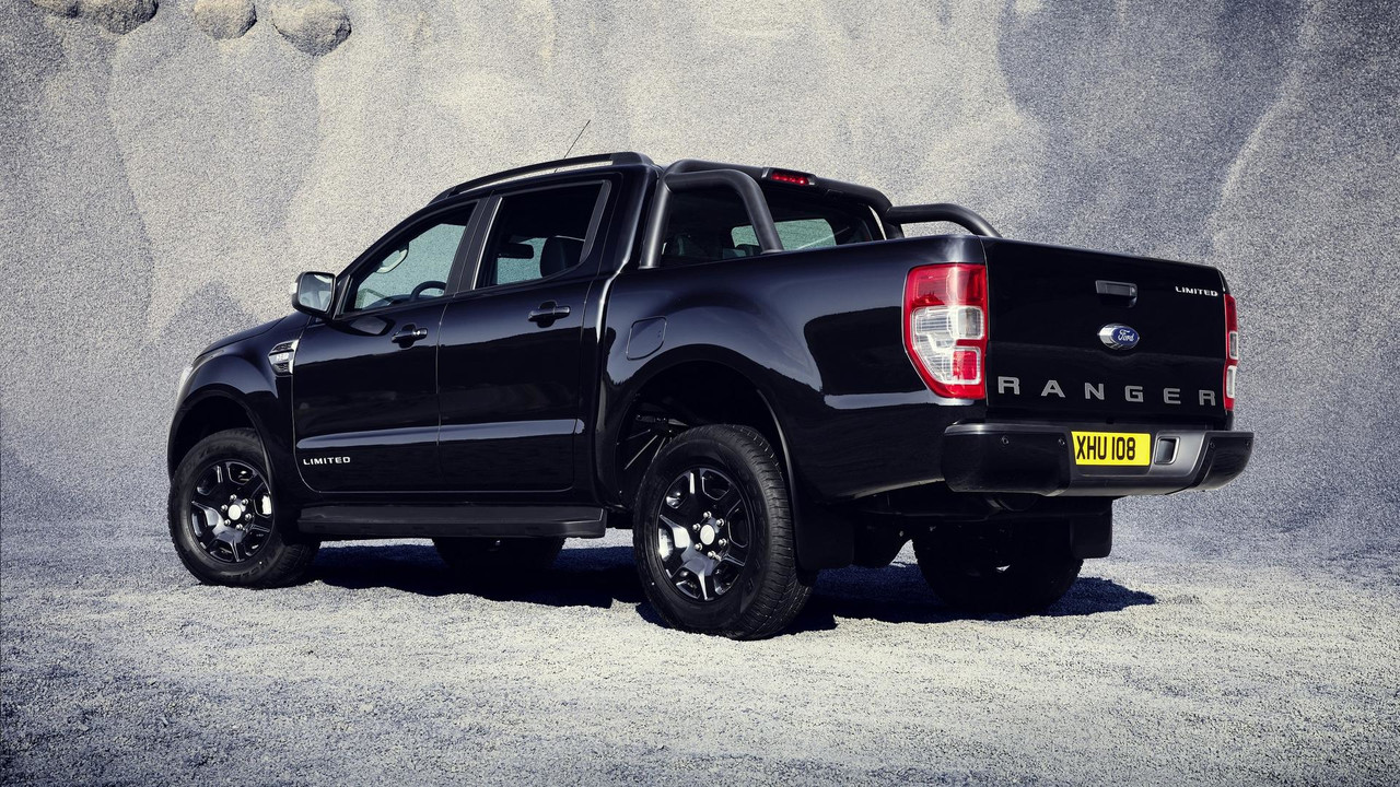 2017 Ford Ranger >> Ford Ranger Black Edition To Debut At Frankfurt