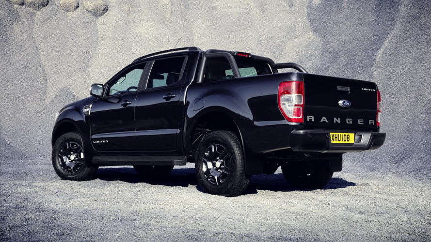 Ford Ranger Black Edition To Debut At Frankfurt