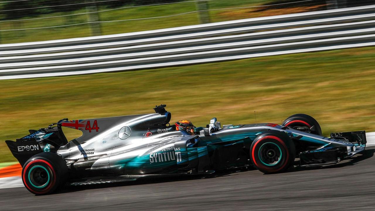 F1 Grand Prix d'Italie 2017 Lewis Hamilton