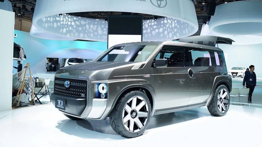 Toyota Tj Cruiser Concept Is Half Van, Half SUV, All Awesome [UPDATE]
