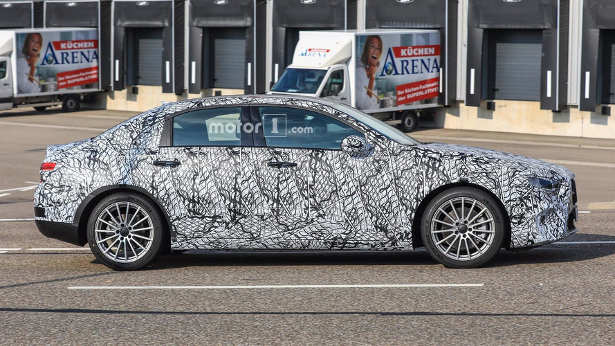 2019 Mercedes A-Class Sedan spy photo