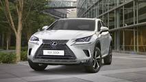 Lexus NX 300h 2018 White Front Static