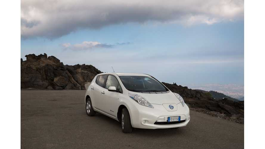 For Nissan, Electric Vehicle Sales In Europe Surpass 75,000