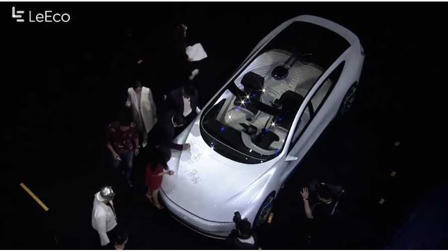 LeEco Unveils Autonomous Electric Car, Will Partner With Faraday Future