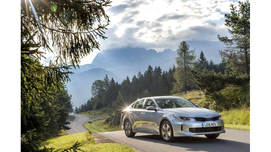 Quiet EV Newcomer, The Kia Optima Plug-In Hybrid Taken Out For A Spin - Video