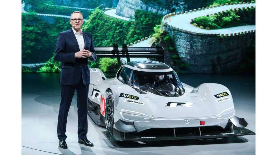 Volkswagen I.D. R To Race On Tianmen Shan Big Gate Road: Video