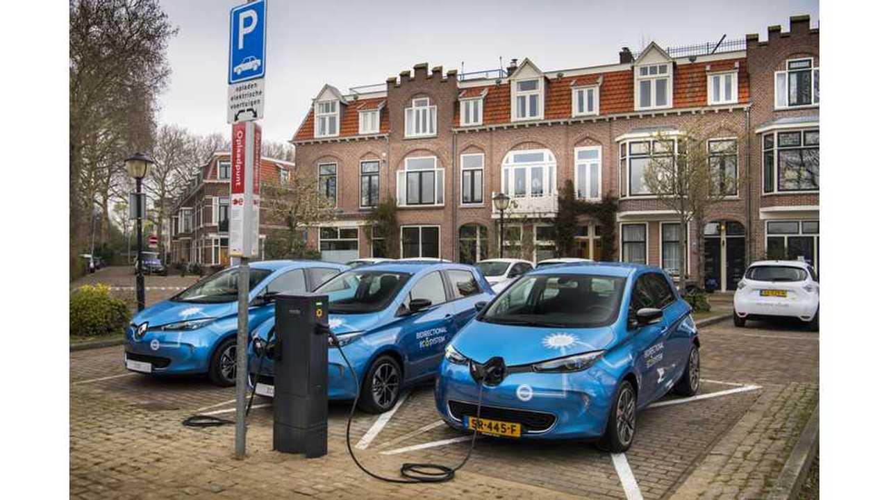 Renault Starts Piloting V2G Charging Using AC