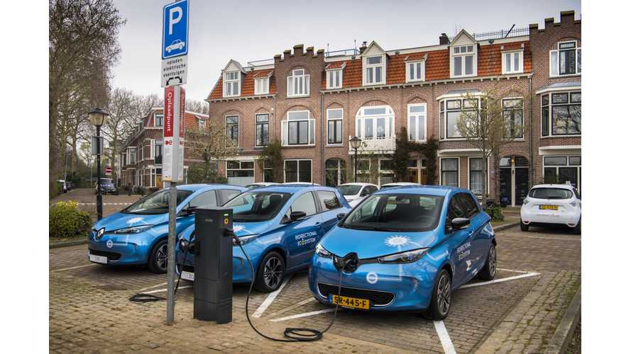Renault Starts Piloting V2G Charging Using AC