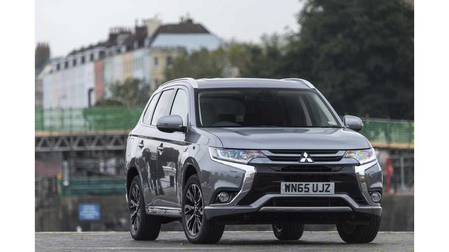 Scotsman Names Mitsubishi Outlander PHEV Its Plug-In Vehicle Of The Year