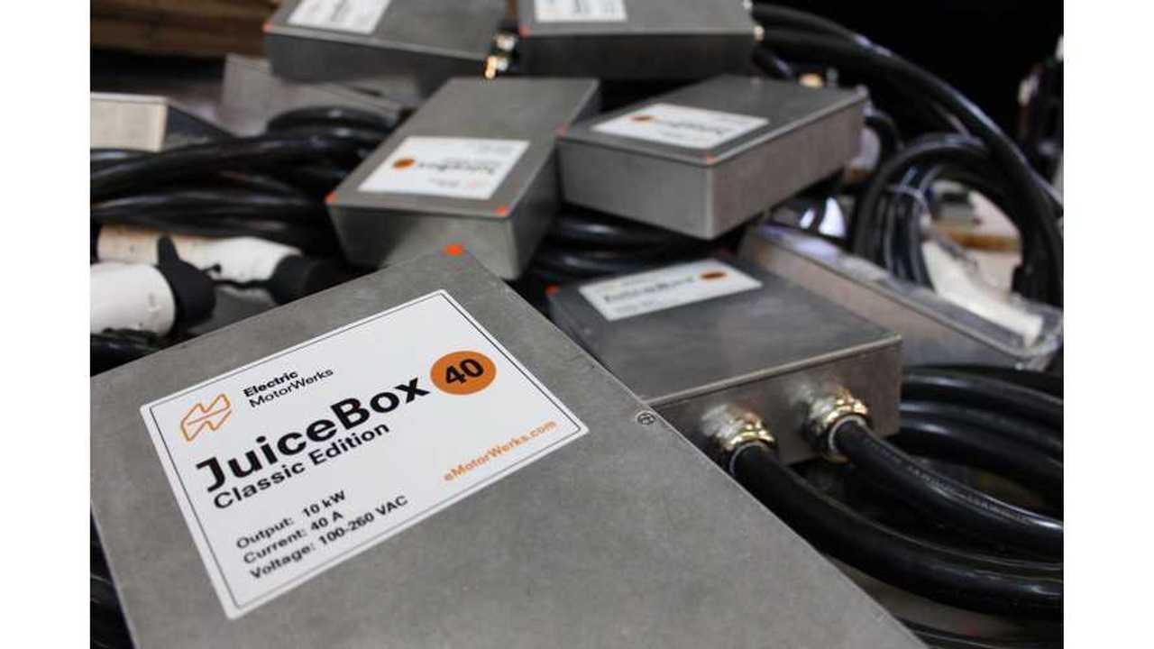eMotorWerks Delivers 3,500th JuiceBox Charging Station