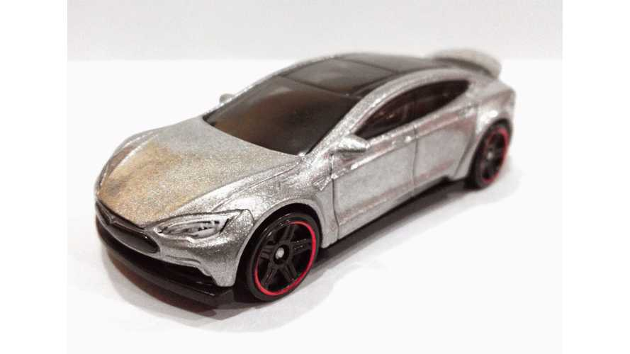Revealed: MatchBox And Hot Wheels Tesla Model S