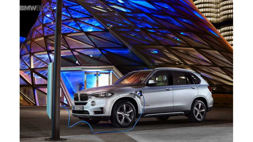 World Debut: BMW X5 xDrive40e Plug-In Hybrid