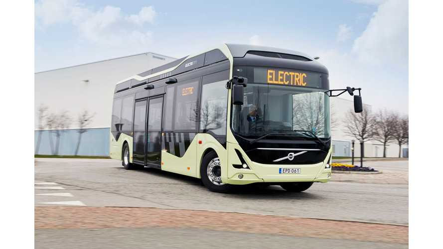 Volvo Introduces Electric Concept Bus in Sweden