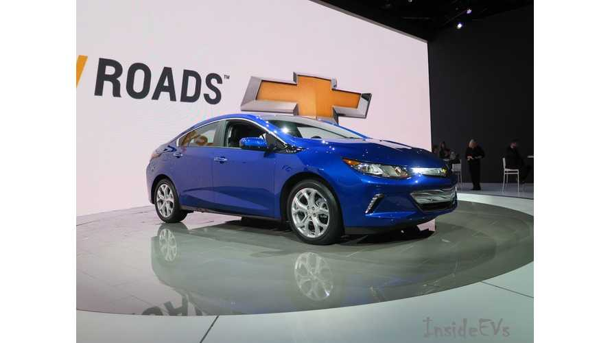 Pre-Production 2016 Chevrolet Volts Now Being Built - Pricing Announcement Expected Next Month