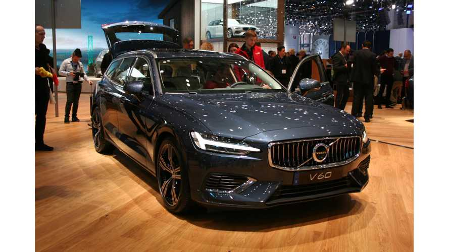 Volvo V60 T6/T8 Twin Engine PHEV Shines In Geneva