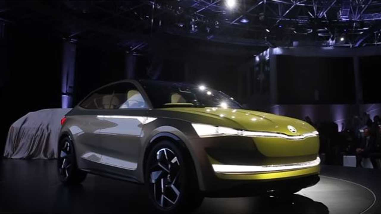 Skoda Vision E Electric Concept Points To Automaker's New Future