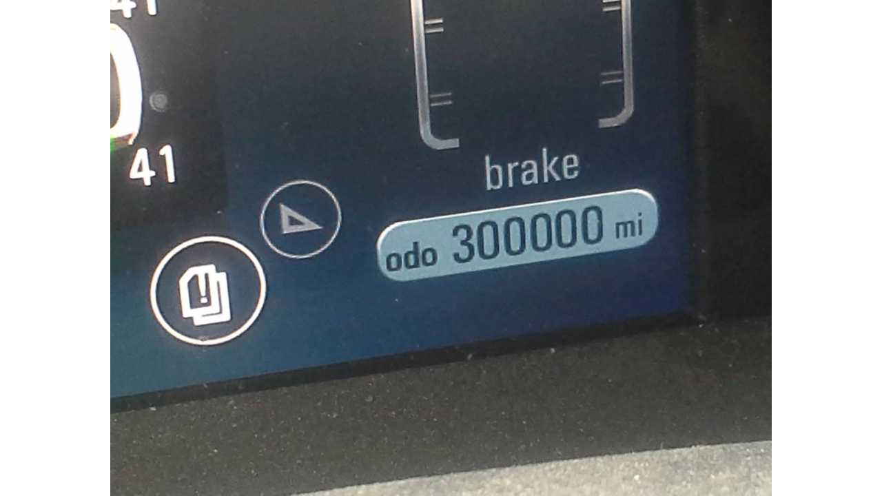 World's First 300,000-Mile Chevrolet Volt