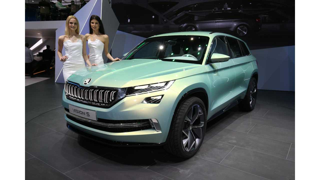 Skoda Gives Production Nod To PHEV In 2019, Followed By BEV