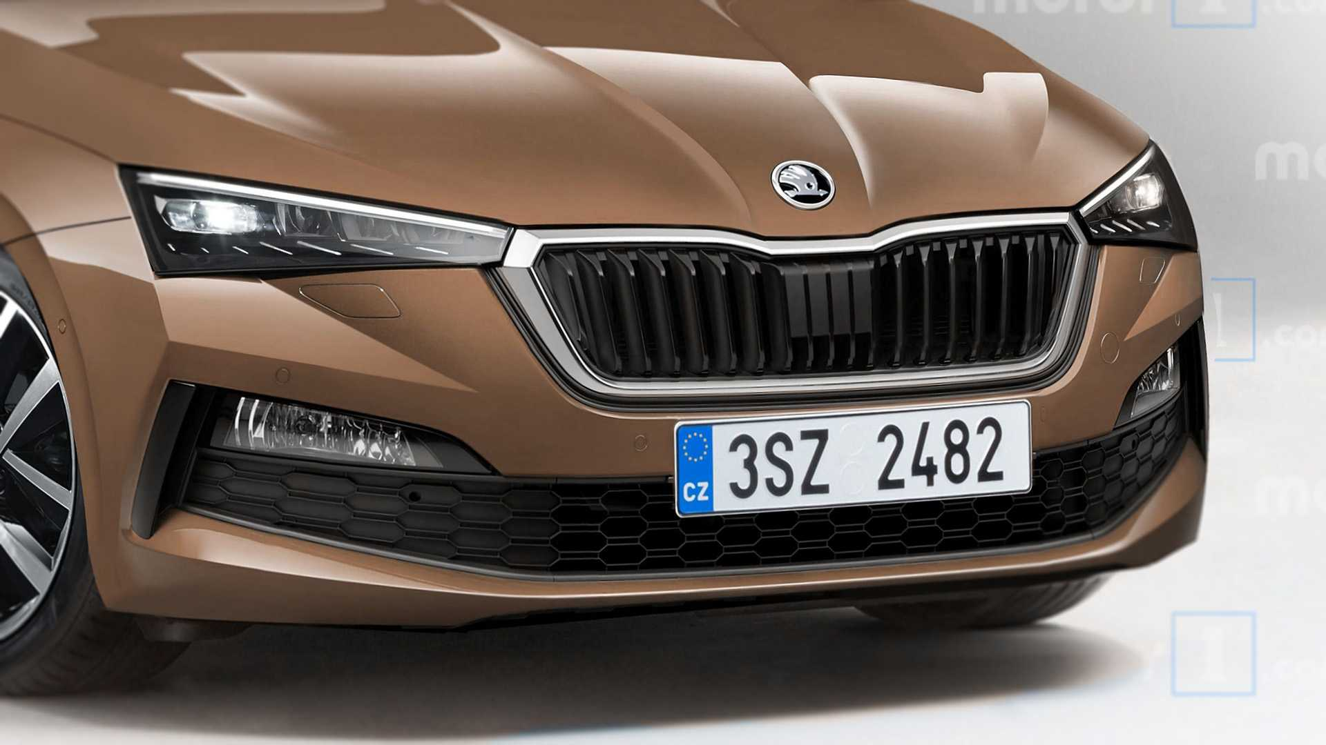 Motor1 представляет: как будет выглядеть новая Skoda Octavia
