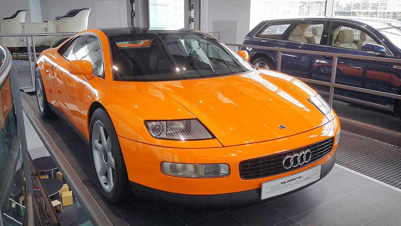 1991 Audi quattro Spyder