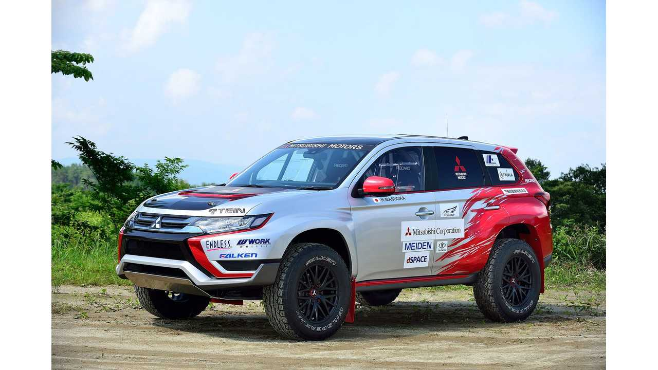 2016 Mitsubishi Outlander Phev Rally Version