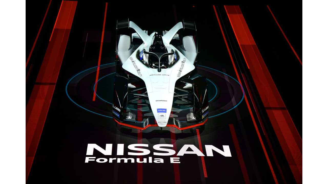 Nissan Formula E race car