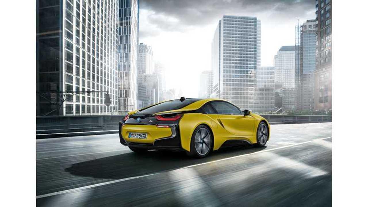 BMW i8 Frozen Yellow Edition