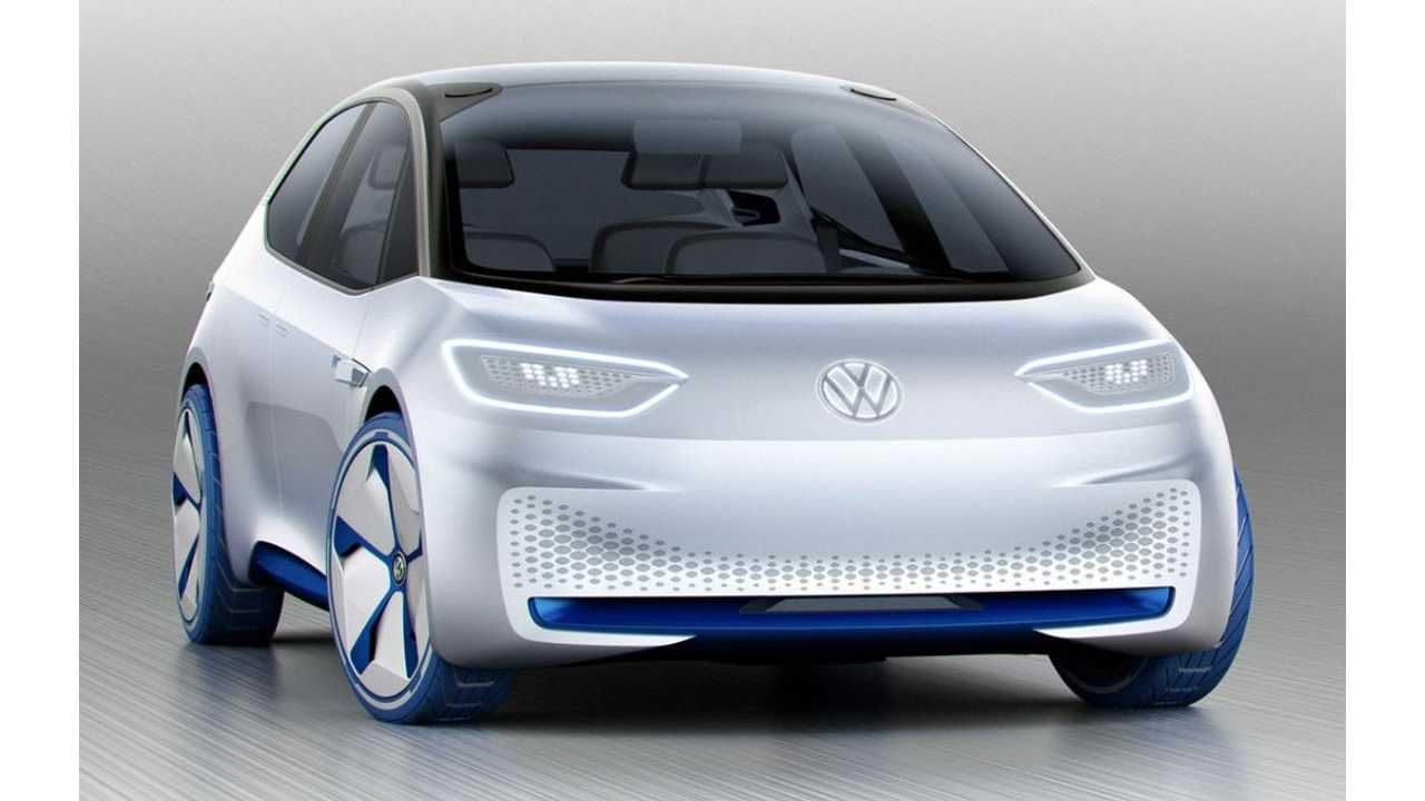 Volkswagen I.D. Concept Electric Car Revealed - Range Of 250-Plus Miles, Production In 2020 (w/video)