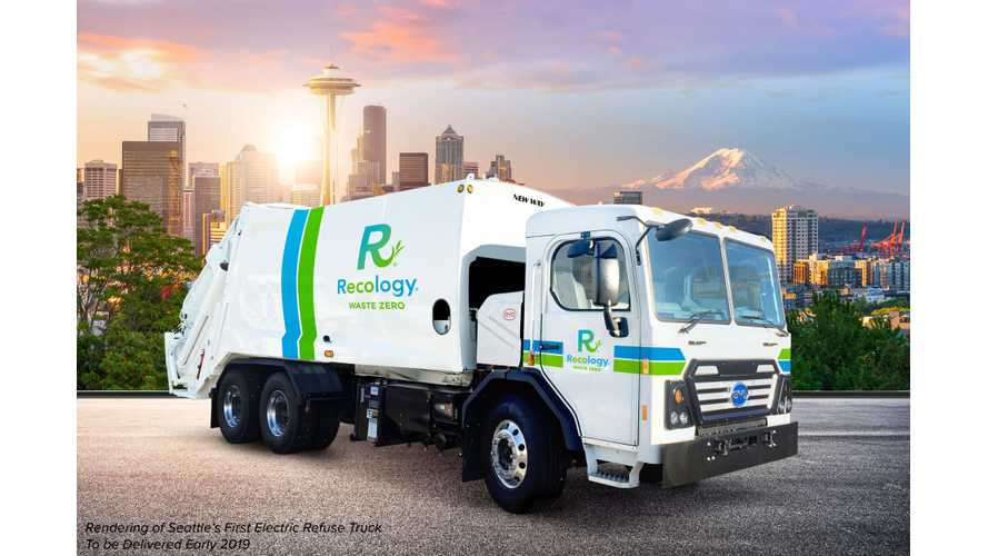 BYD Will Deliver First Electric Garbage Trucks In Seattle