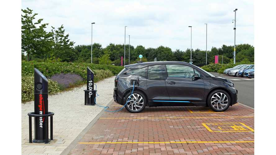 UK Study Says 20% Of Parking Spots Need Charging Points