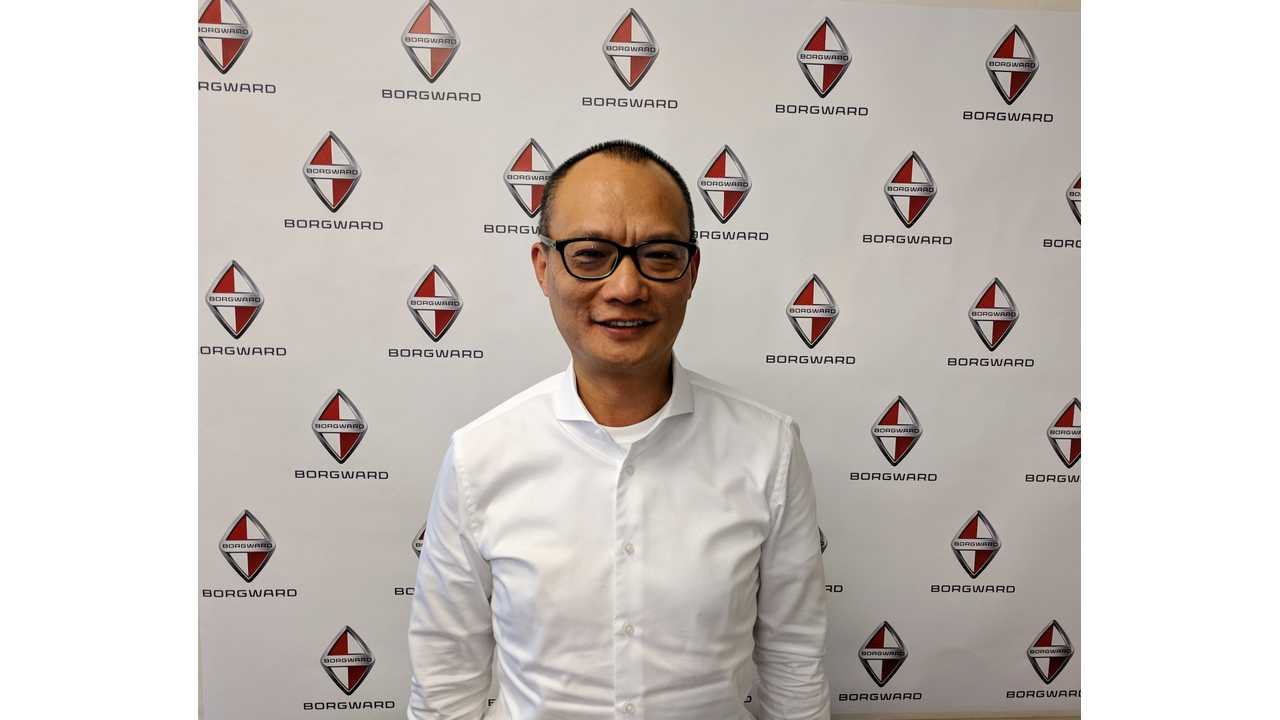 Borgward's President & CEO, Jason Yang, was on hand to speak to InsideEVs at the O'Reilly Artificial Intelligence Conference in San Francisco, California.