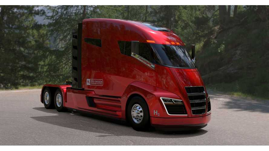 Nikola One Truck Turns To Hydrogen Power For Zero Emission Driving In US