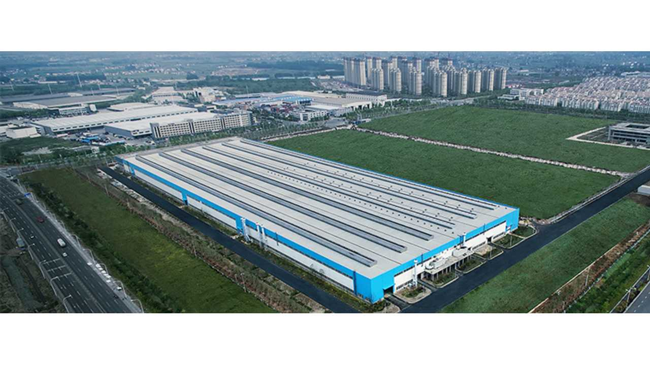 NextEV Announced High-Performance Motors & Electronic Modules Plant In Nanjing
