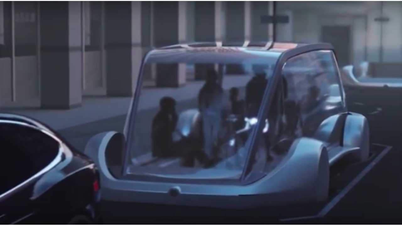 Elon Musk Shows Glimpses of Tesla Model B?